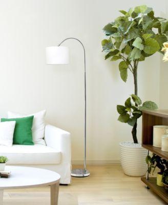 All The Rages Simple Designs Metal 3 Light Tree Floor Lamp Reviews Home Macy S Nickel Floor Lamp Brushed Nickel Floor Lamp Arched Floor Lamp