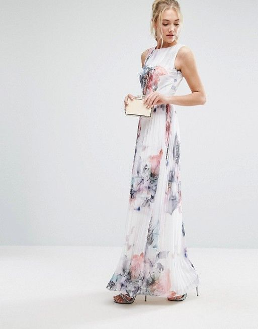 9df266f7c30bcf Discover Fashion Online Dresses To Wear To A Wedding, Floor Length Gown, Pleated  Skirt