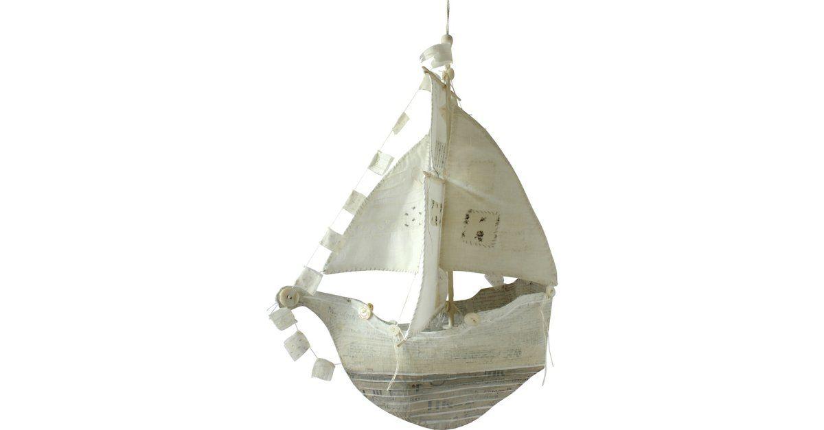Large Papier-Mâché Ship by Ann Wood for One Kings Lane #ships #annwood #onekingslane
