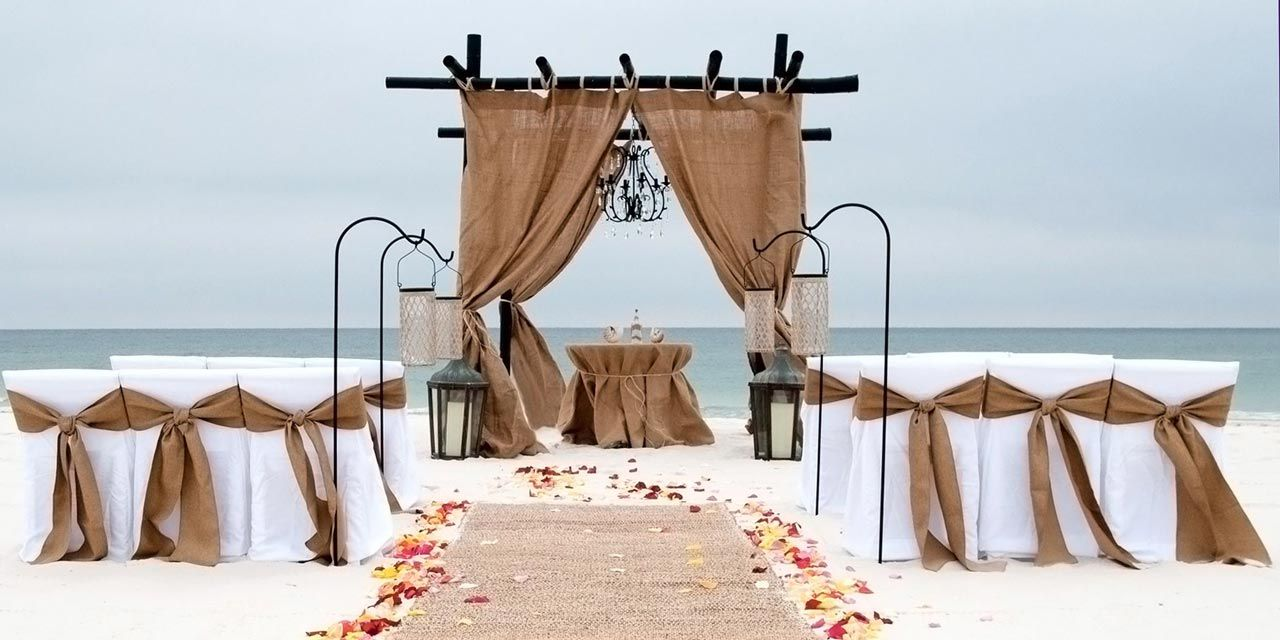 Sunset Beach Wedding Packages : Marriage License Alabama