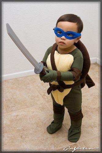 59 Homemade DIY Teenage Mutant Ninja Turtle Costumes - Alec's Ninja Turtles (2nd bday party ...