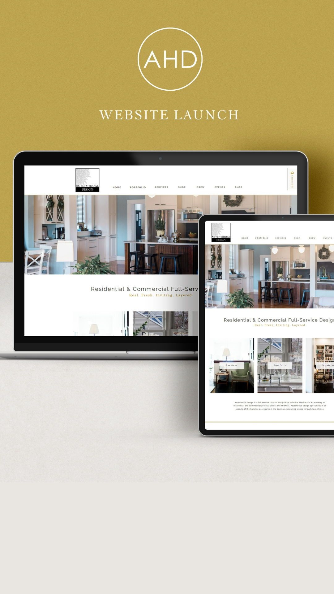 Custom Showit Website Design For Interior Design Company Designed By Oregon Lane Studio Www Oregonlane Com With Images Web Design Studio Website Design Design