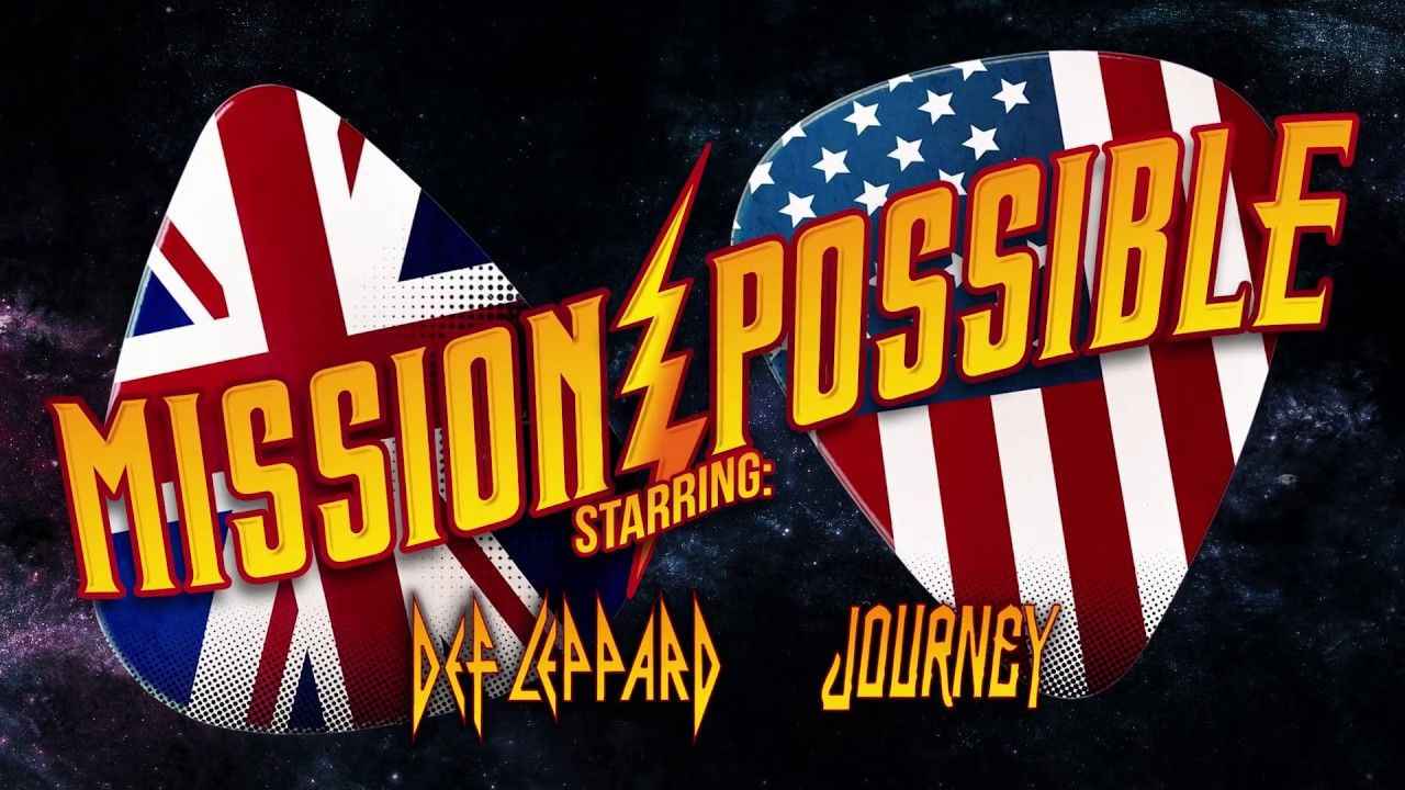 Def Leppard Mission Possible With Journey Youtube Def Leppard Journey Concert Journey Music