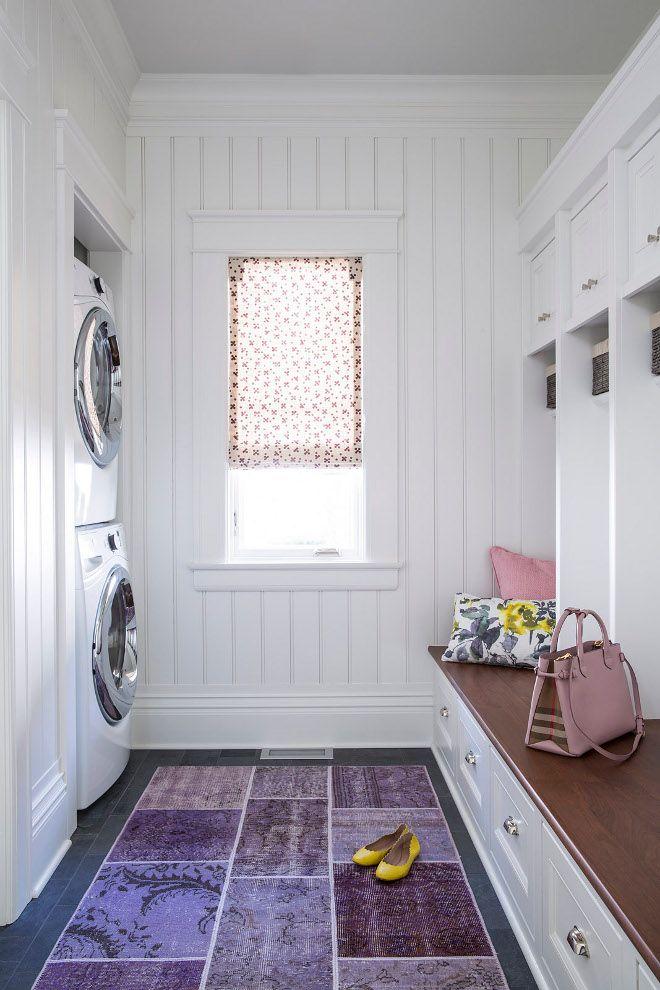 Mudroom Laundry Room Beadboard Paneling