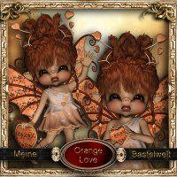 Orange Love [meine Bastelwelt] - $3.50 : LowBudgetScrapping