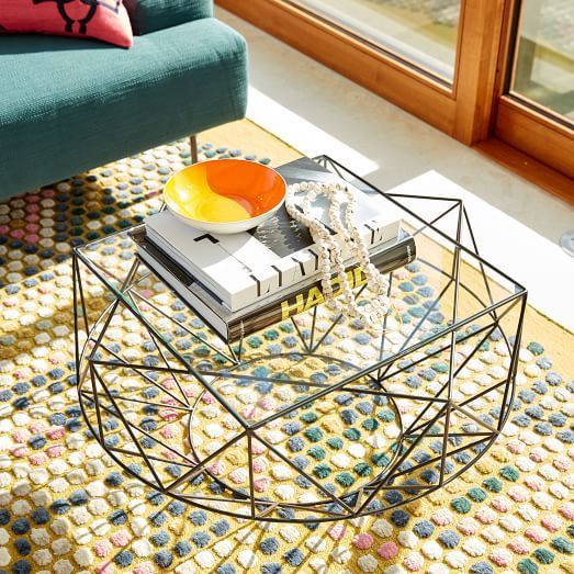 Indigi Coffee Table West Elm Thógáil Pinterest Coffee - West elm geometric coffee table