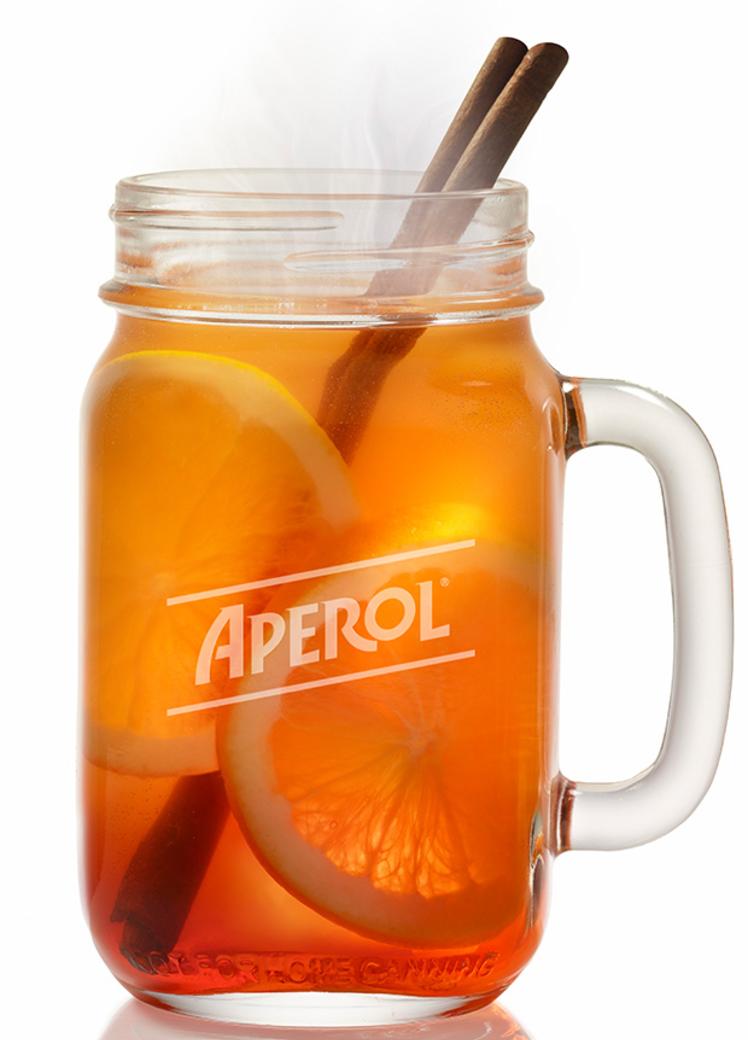 Hot Aperol: Das Rezept für das Trend-Getränk im Winter #alcoholicdrinks