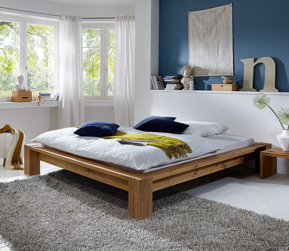 Boxspring Bett Für Kleines Schlafzimmer Solid wood bed