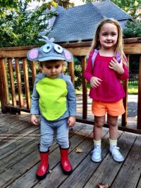 Dora and Boots DIY Halloween Costumes
