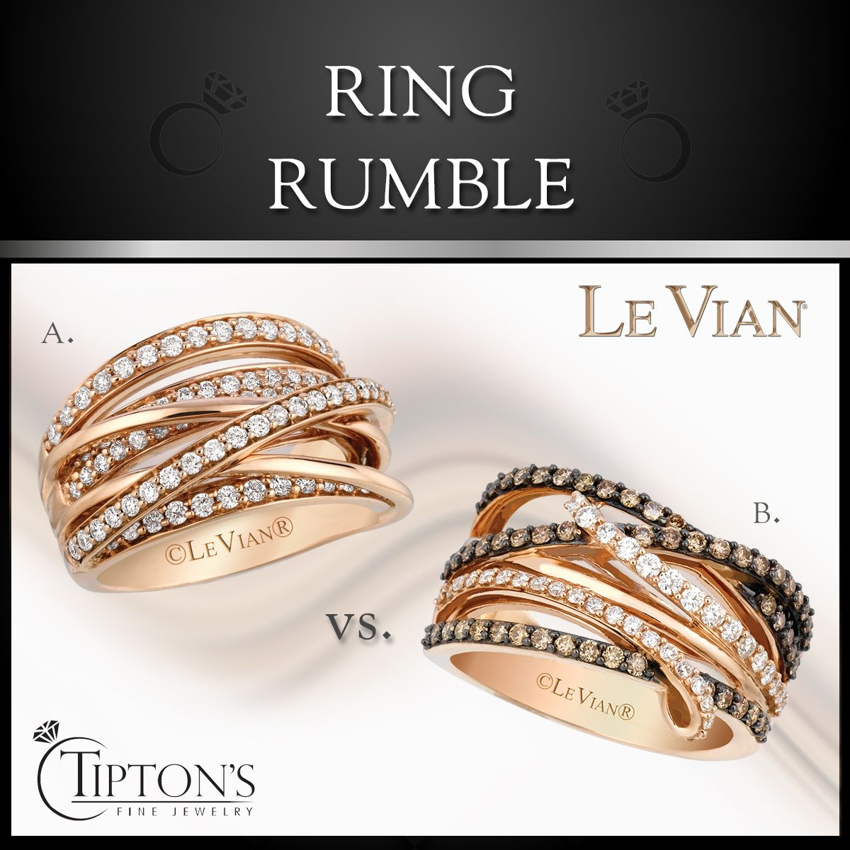 Which ring are you rooting for? LeVian RingRumble