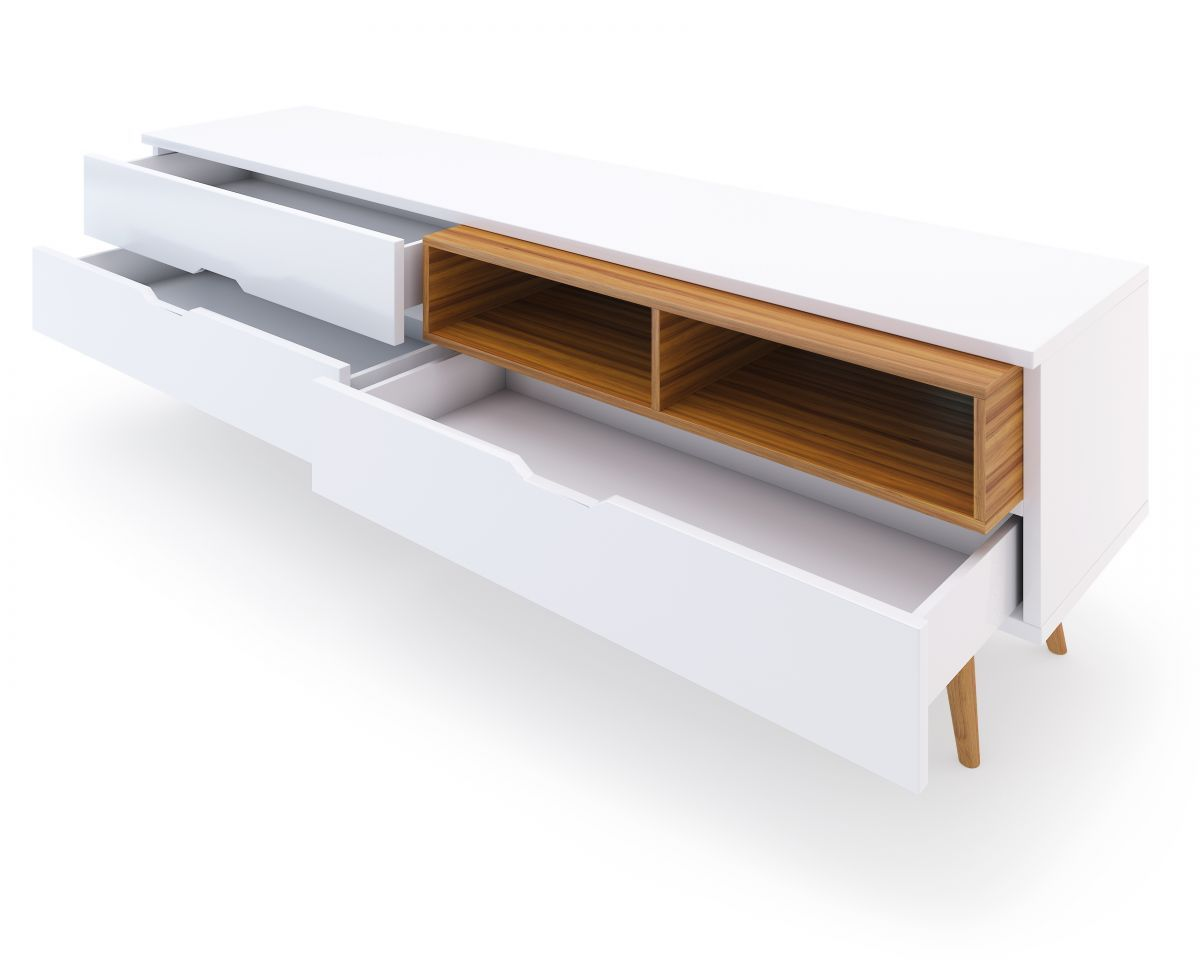 Nilsson Tv Stand Tv Stands Mid Century Modern And Mid Century # Meuble Tv Kavehome