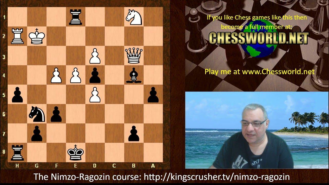 Amazing Chess Game Viktor Korchnoi Vs Yasser Seirawan Philips