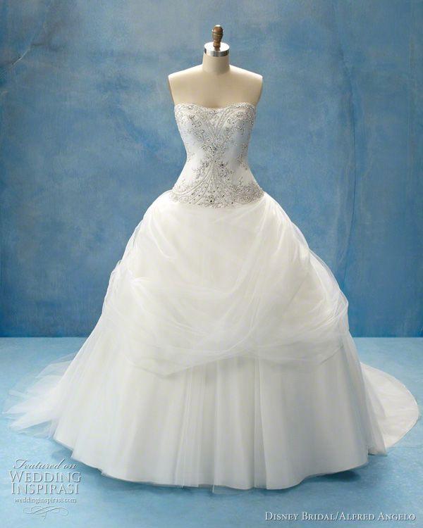 Disney Fairy Tale Weddings By Alfred Angelo Belle Wedding DressesWedding