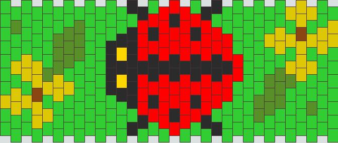 7d8e4e218693 Ladybug bead pattern