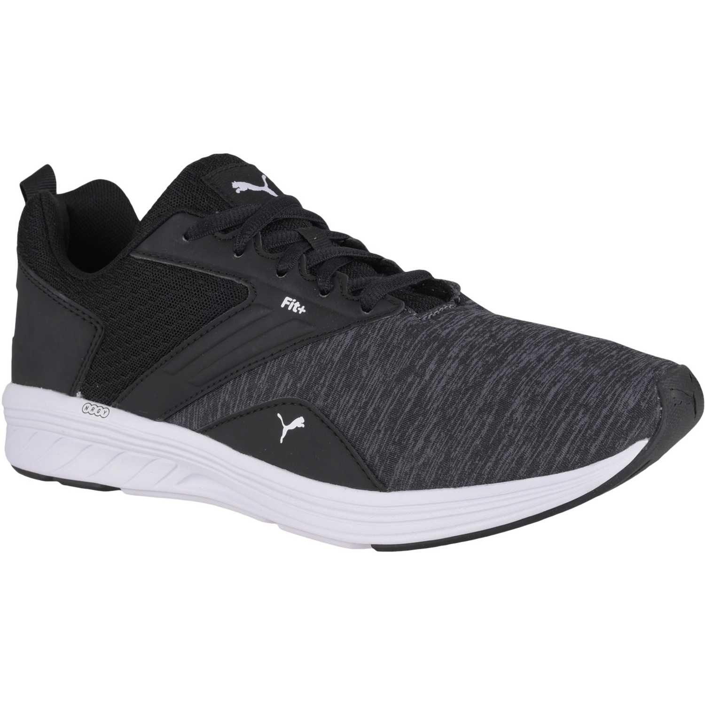zapatillas de hombre puma negro