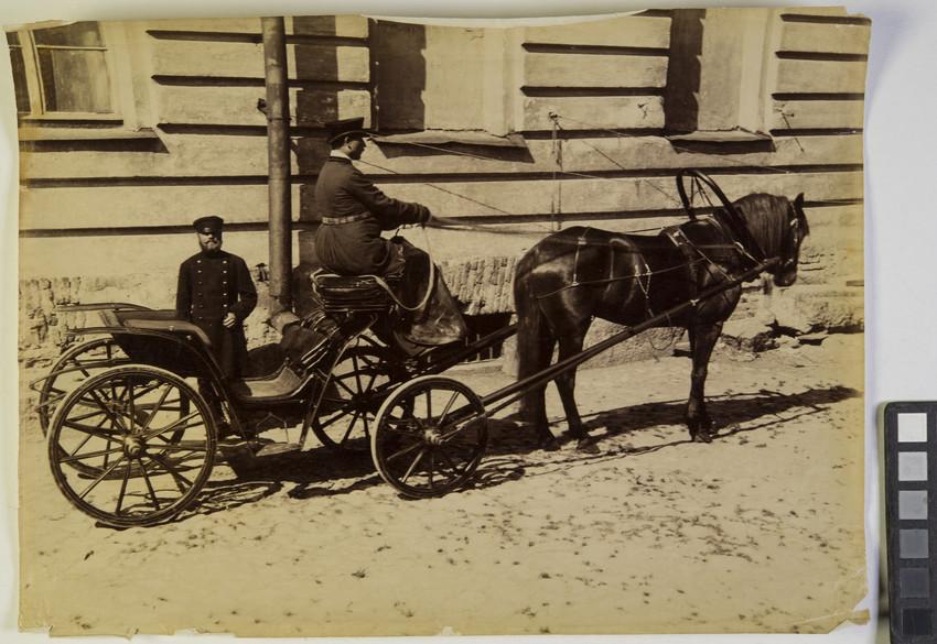 Извозчик на дрожках  1870-1910-е гг.  Санкт-Петербург ...  извозчик