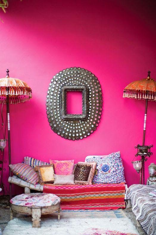 LIA Leuk Interieur Advies/Lovely Interior Advice: pink | living ...