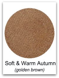 Soft and warm autumn-golden brown