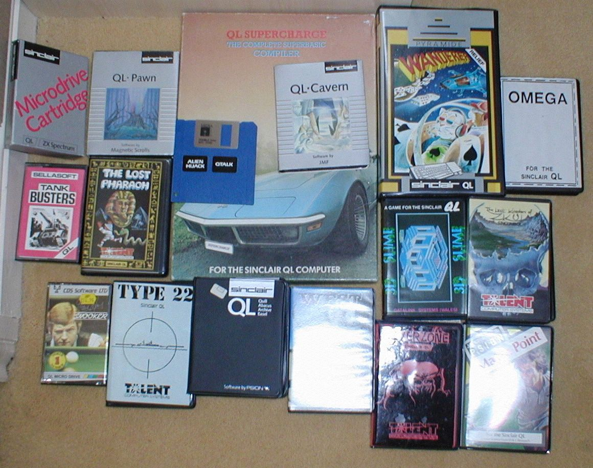 A collection of my very own QL software. Tank busters, Zkull, etc