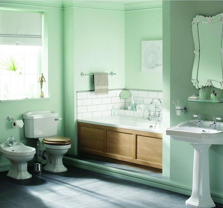 peinture salle de bain 2015 en 30 id es de couleurs tendance cuarto de ba o pinterest art. Black Bedroom Furniture Sets. Home Design Ideas