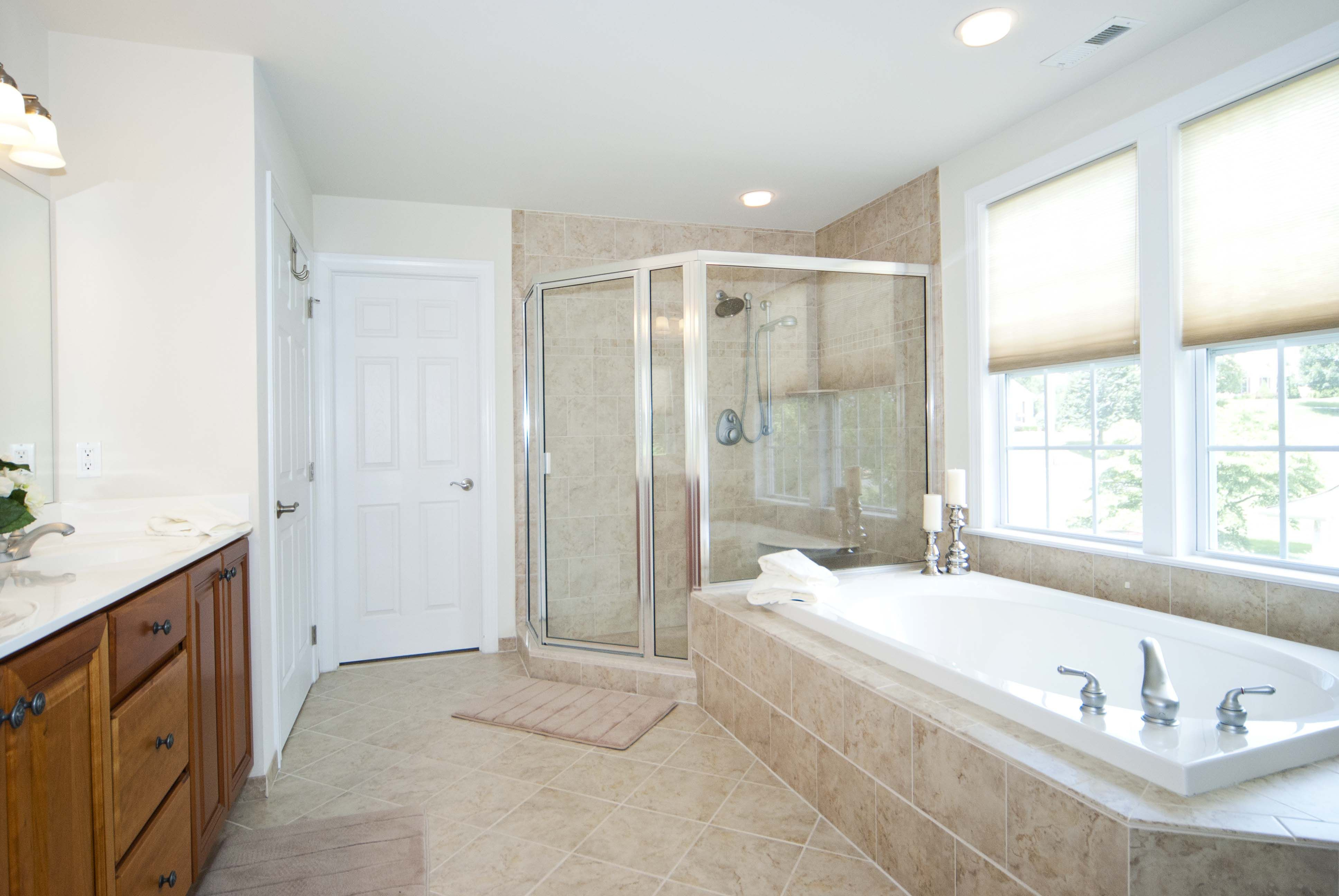 Glorious Master bath with large shower stall! 236 Green Tree Rd ...