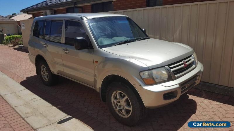 2002 MITSUBISHI PAJERO NM GLX AUTO 4WD 4X4 CHEAP LIGHT HAIL DAMAGED #mitsubishi #pajero #forsale #australia