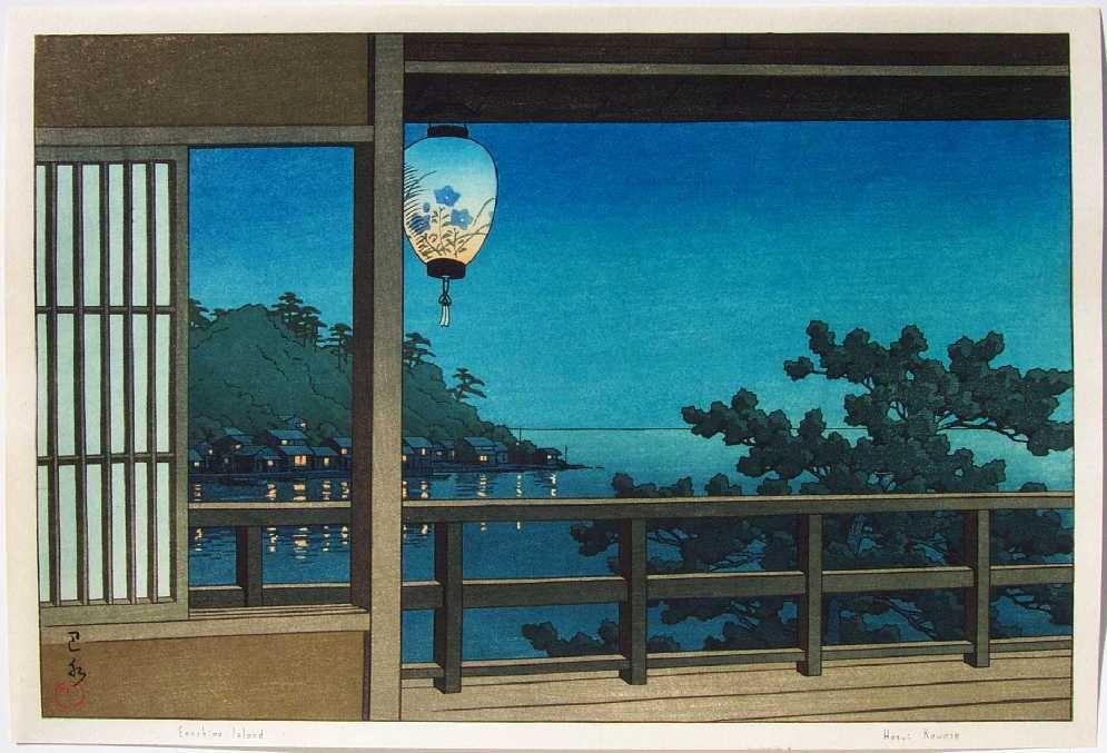 """HASUI -- """"Enoshima"""""""