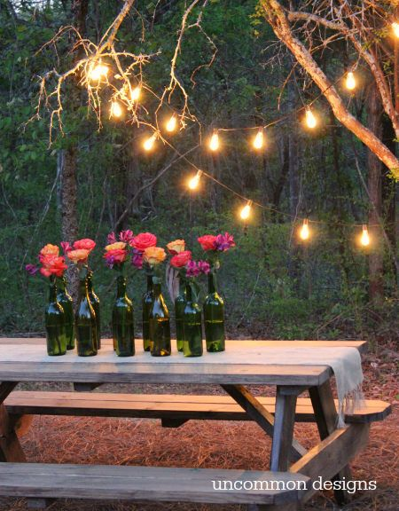 Easy outdoor party lighting ideas outdoor parties brigten up your next gathering with these easy outdoor party lighting ideas workwithnaturefo