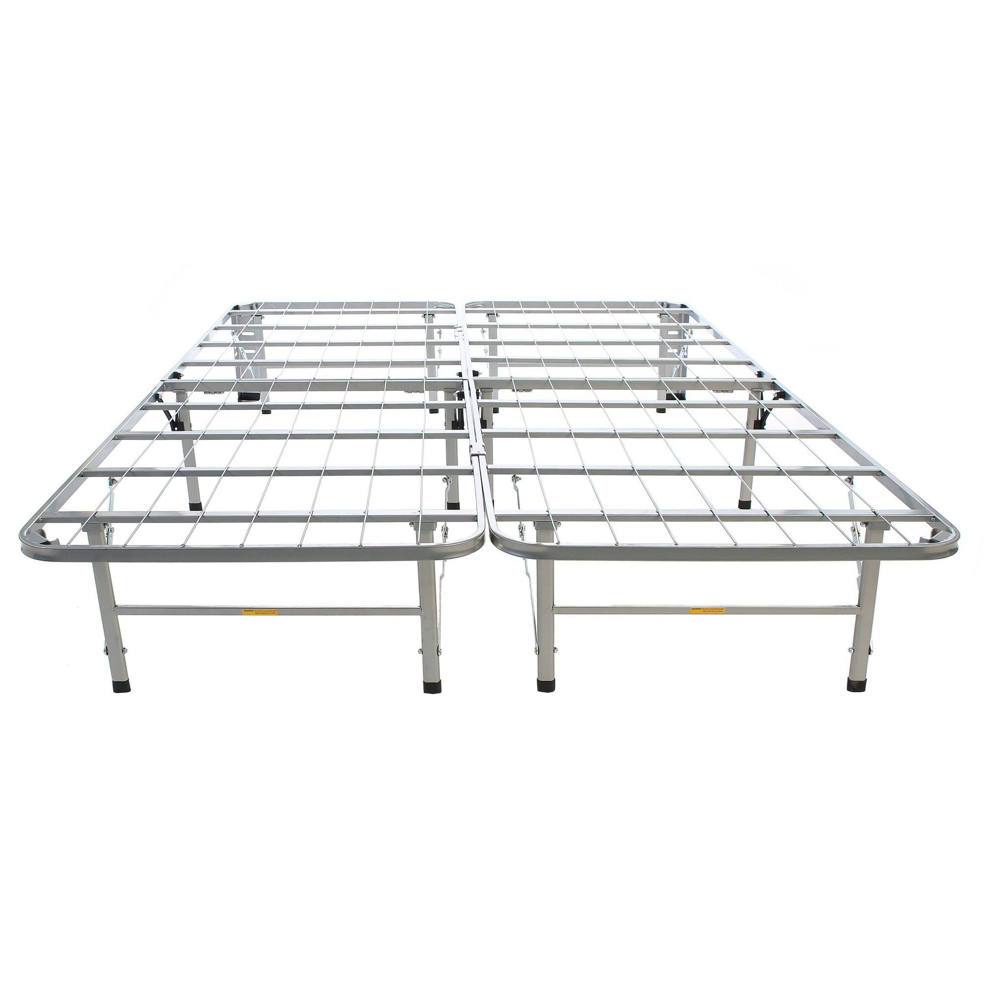 Bedder Base Full Bed Support Silver Hollywood Bed Adult Unisex