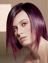 Black And Purple Hair Dye Mixing Dip Ideas