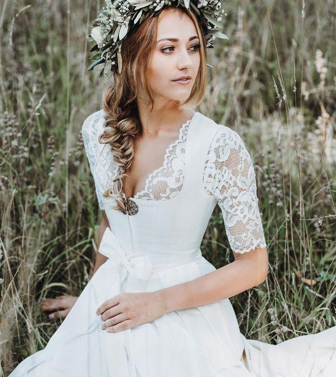 Dirndl Hochzeit Alpenherz Tracht Limberry Linenweddingdresses Dirndl Hochzeit Braut Dirndl Hochzeitskleid Dirndl