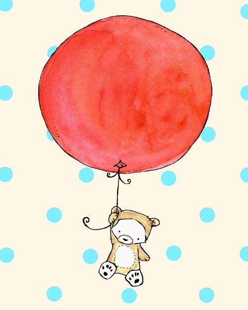 Pin By Gabriela Rossin On Ballons Et Montgolfieres Cute Drawings Kids Nursery Art Drawings
