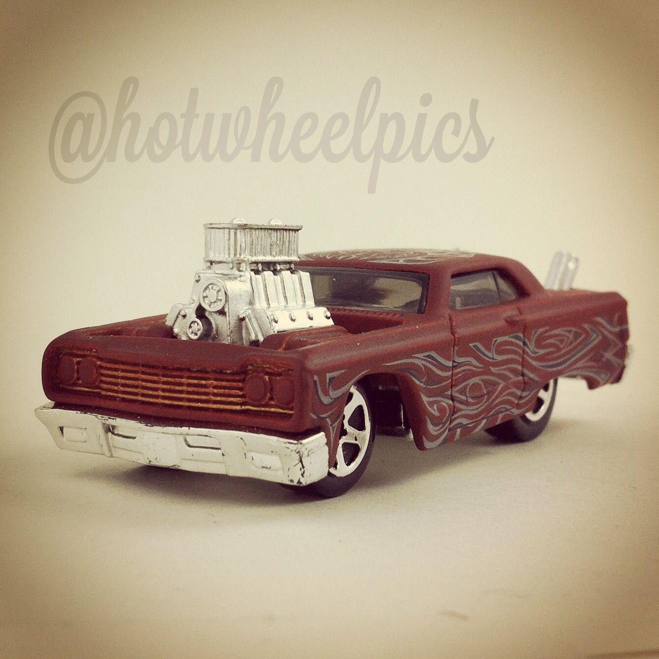 tooned 64 chevy impala 2004 hot wheels hotwheels diecast