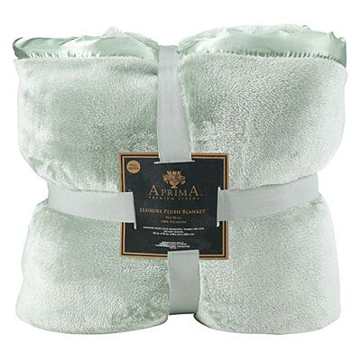 Aprima Luxury Plush Full Queen Blankets At Big Lots