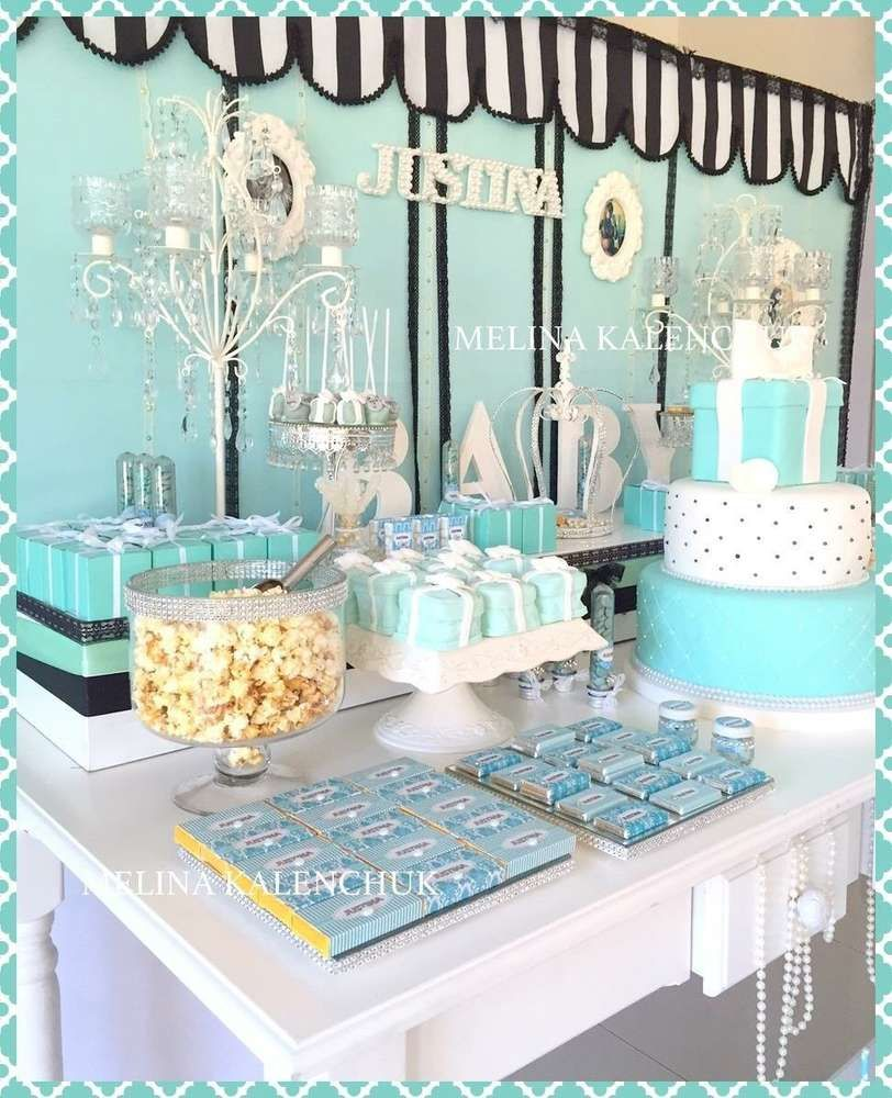 Tiffany's Baby Shower Party! See More Party Planning Ideas