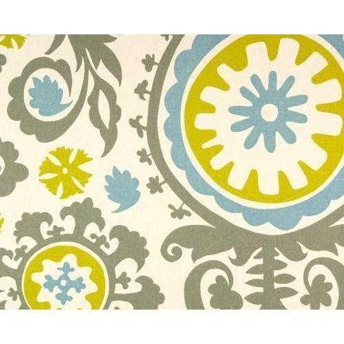 Curtain Panels Pair With Lining Suzani Floral Print Suzani Fabric Suzani Upholstery Fabric