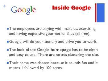 Google Activity Teaching Technology Educational Websites