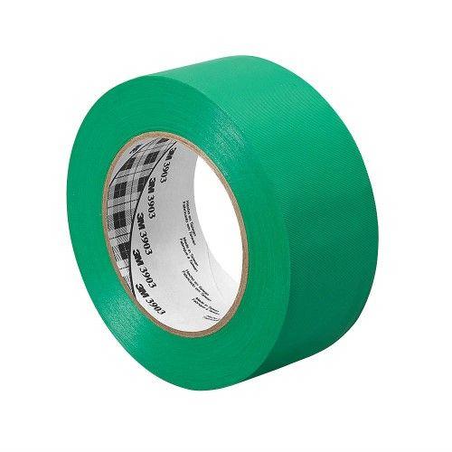 3M 50 yd. x 1' Vinyl Duct Tape, Green 1-50-3903-Green