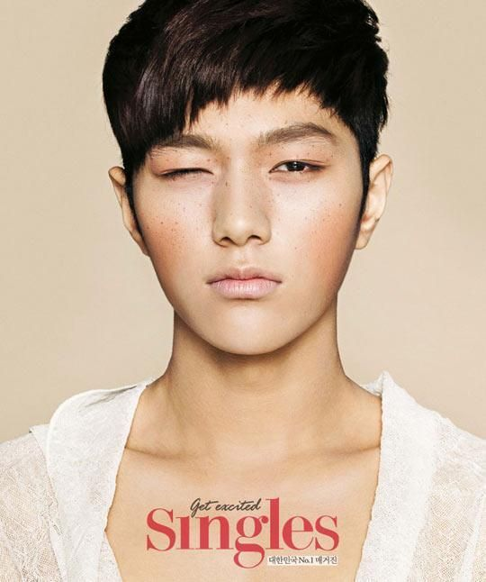 These 21 Photos Reveal How Idols Would Look If They Were Caucasian Myungsoo Handsome Korean Actors Kim Myung Soo