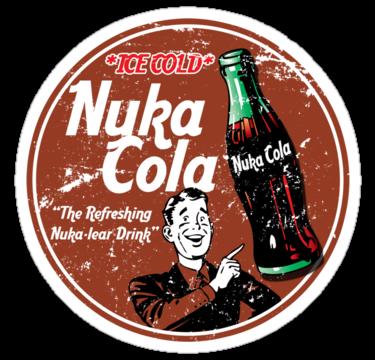 Fallout Nuka Cola By Metacortex Fallout Nuka Cola Cola Fallout Art