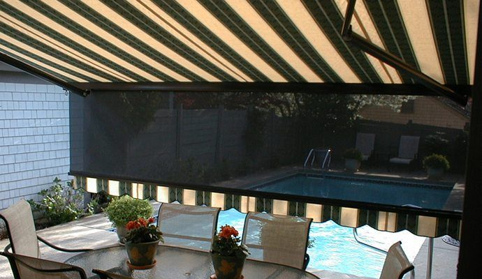 Shade And Shutter Awnings Long Island Awnings Li Awnings Ny Awnings Glen Cove Awnings Long Beach Beachfront House Beach Houses For Sale Pergola Ideas For Patio