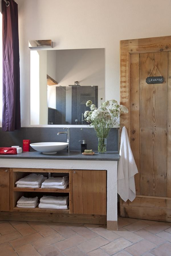 Muebles de baño rustico moderno: muebles de baño a medida en ...