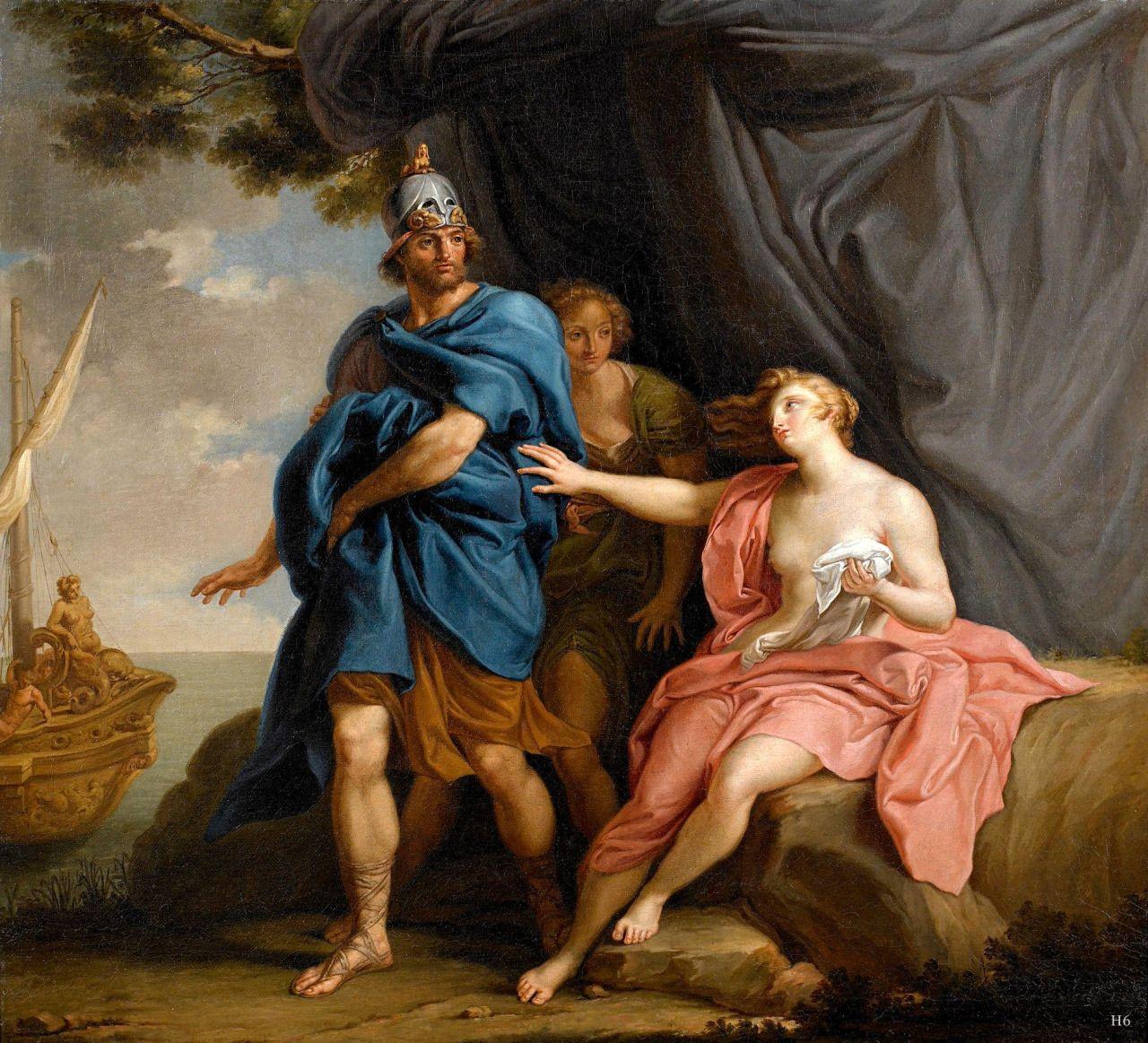 dido and aeneas 1747 pompeo batoni italian 17081787