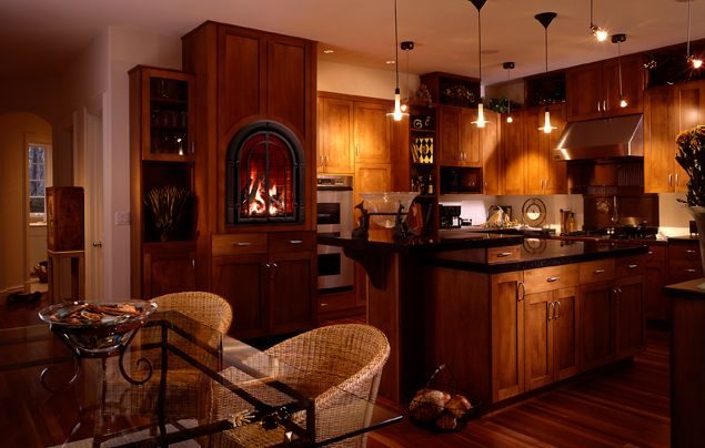 Chelsea Fireplace In The Kitchen Custom Dream House Ideas