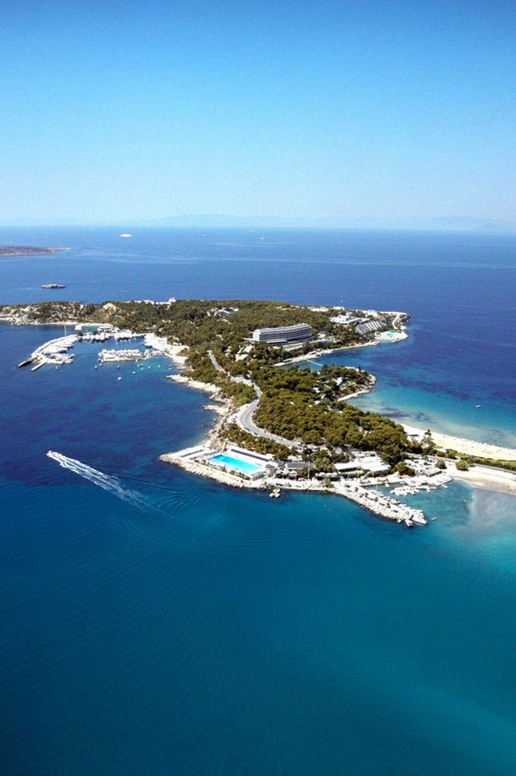 The Westin Athens Astir Palace Is Located On Scenic Vari Voula Vouliagmeni Peninsula Jetsetter Athen Beach Resort
