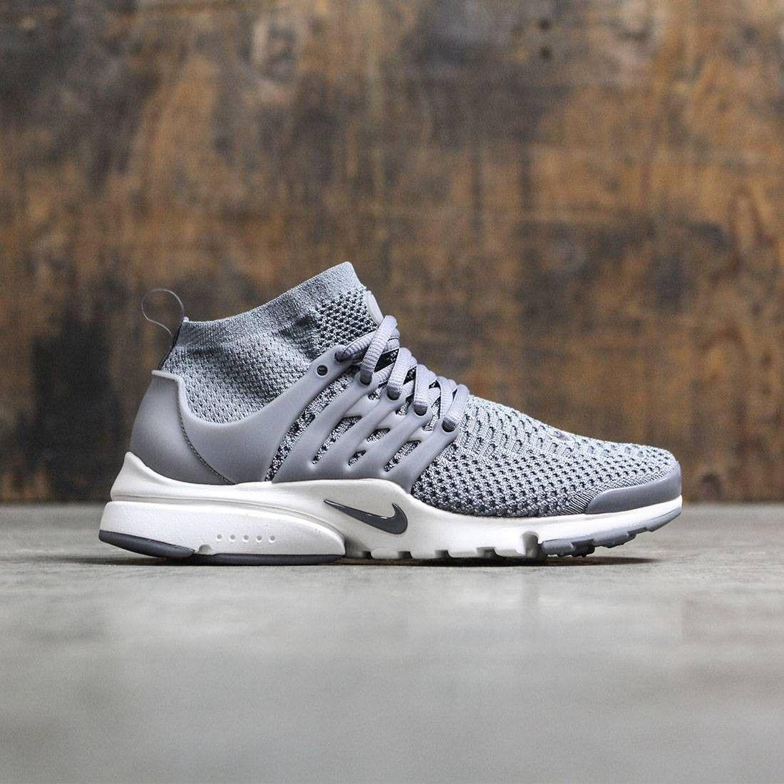 Womens Cool Grey & Summit White Nike Air Presto Ultra