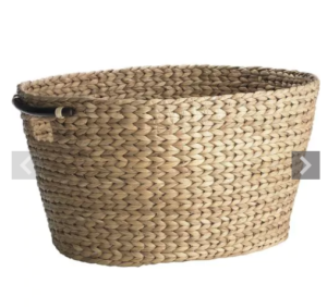 New Laundry Room The Reveal Woven Laundry Basket Wicker Basket