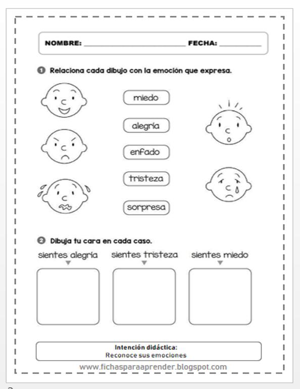 Actividades Para Trabajar Las Emociones Actividades Sentimientos Inteligencia Emocional Para Ninos Emociones