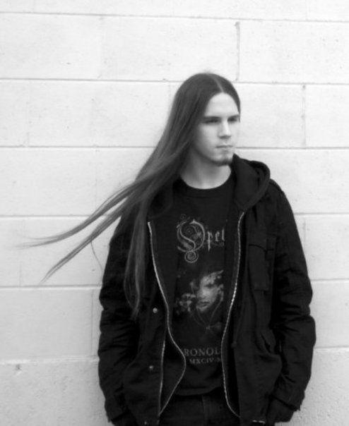 long haired man tumblr nice goth men and metalhead