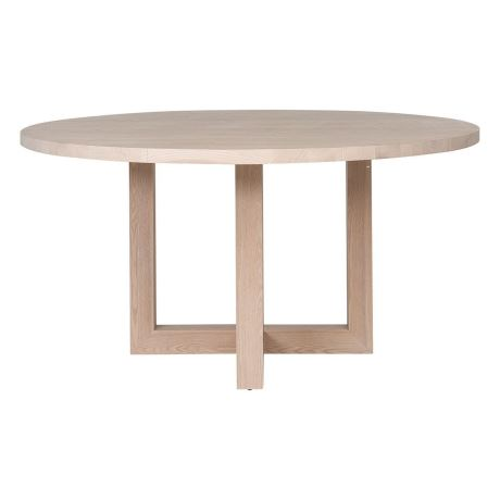 COVE 150cm Round Dining Table, Natural